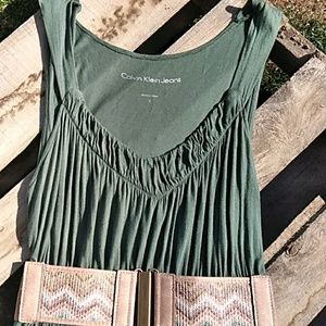 Calvin Klein Jeans Dresses - Calvin Klien Dress Belt Included Size Lage
